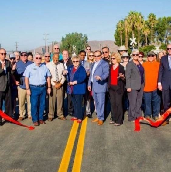 Members of the community gather at the Stetson Bridge ribbon cutting on 9/9/2019.