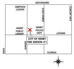 Fire Station 1 map