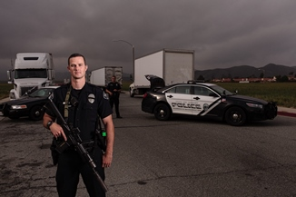 Hemet Police Patrol Officers