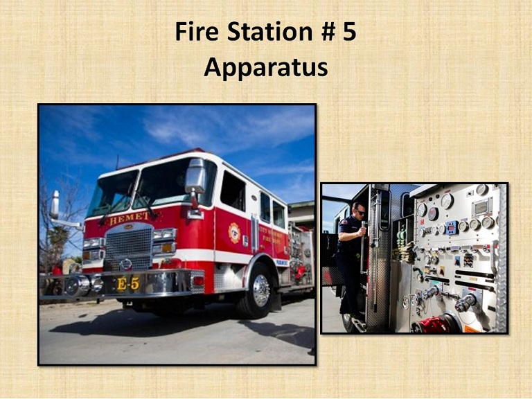 Fire Station 5 Apparatus