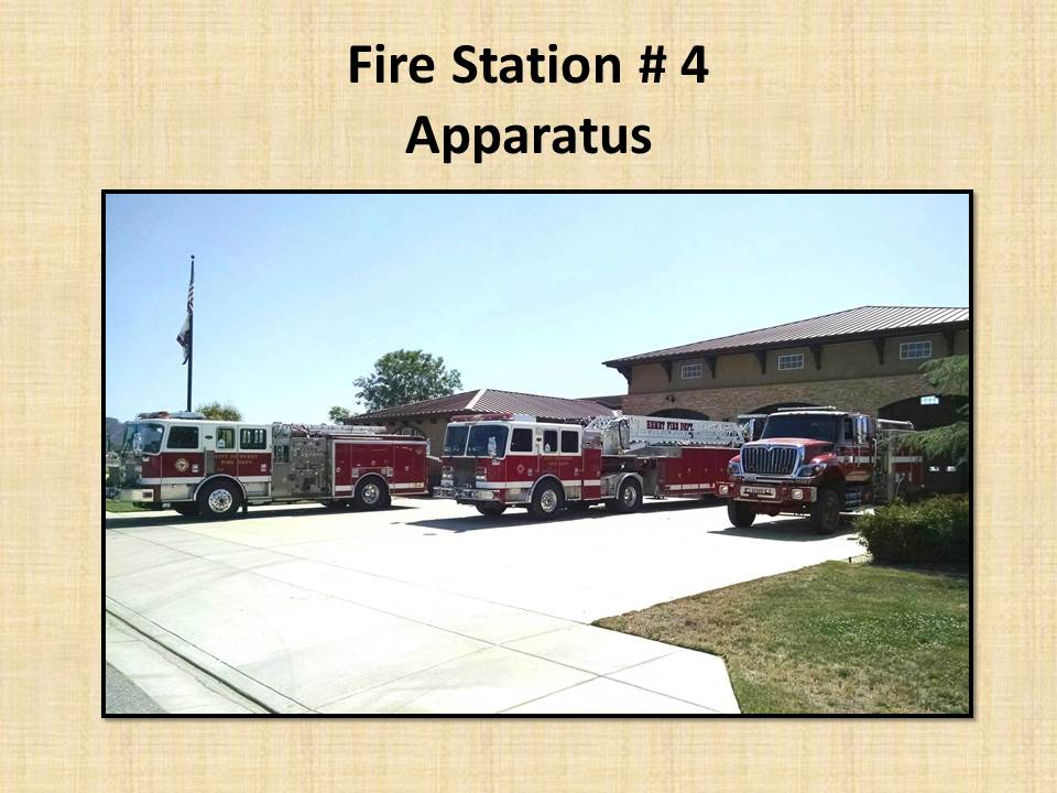 Fire Station 4 Apparatus