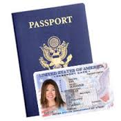 passport or card